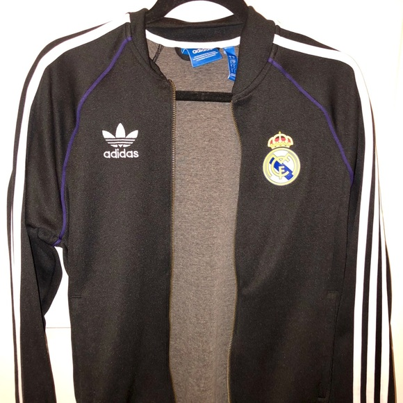 c4a9a7c12 adidas Jackets & Coats | Real Madrid Anthem Jacket | Poshmark